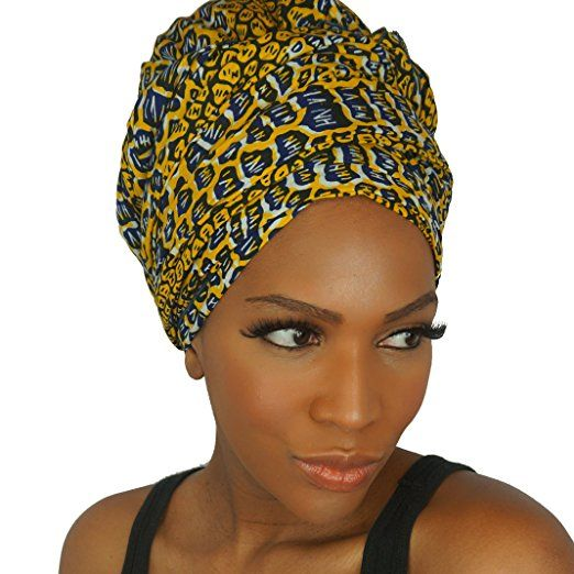 5 Gorgeous and Stylish African Head Wraps - - #headwrap