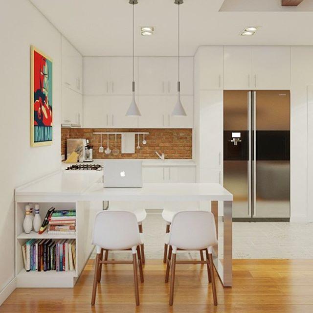 #arquitetura #architecture #arquitectura #kitchen #cozinha #cucina #decoration #decor #design #interiordesign #interiorstyling #modern #inspirations #ideas