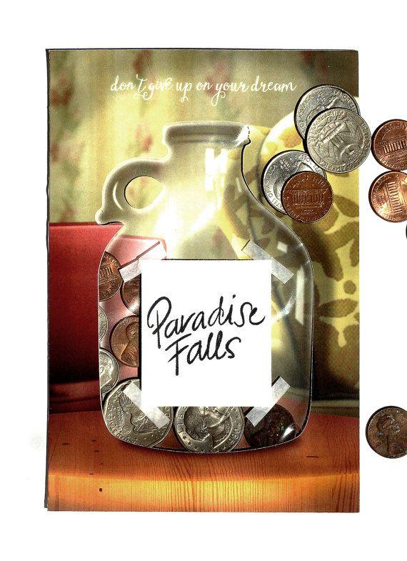 Up Movie Money Jar interactive card