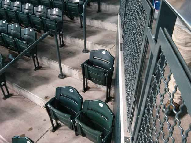 I've got Dodger season tickets for this seat: | 24 Signs You've Been Single For Too Long