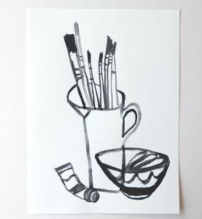 drawdrawdraw: Cathy Cullis - a favourite artist