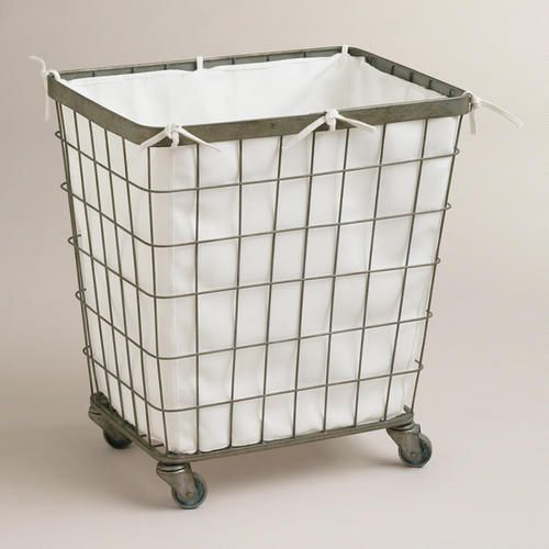 Ellie Rolling Hamper | World Market