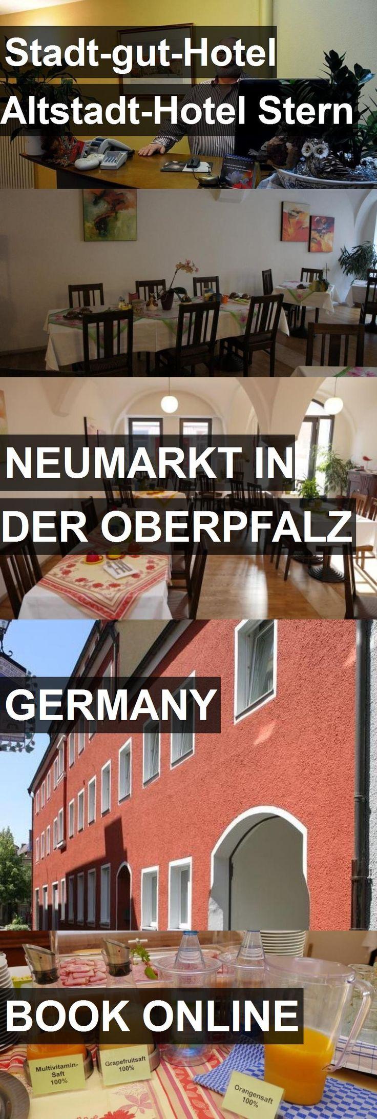 Stadt-gut-Hotel Altstadt-Hotel Stern in Neumarkt in der Oberpfalz, Germany. For more information, photos, reviews and best prices please follow the link. #Germany #NeumarktinderOberpfalz #travel #vacation #hotel