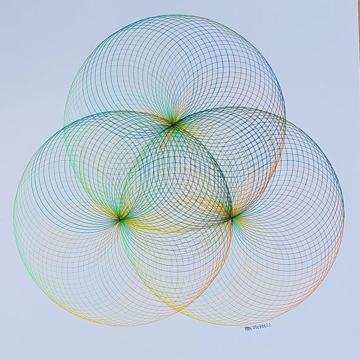 #torus #toroid #geometry #symmetry #circle #disk #mathart #regolo54 #rainbow