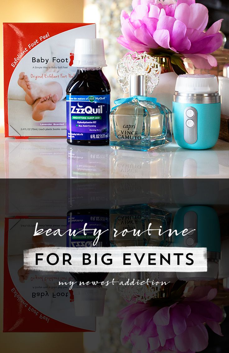Beauty Routine for Big Events - My Newest Addiction