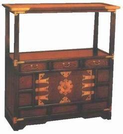 KOREAN FURNITURE | Korean Furniture - Chest with Shelf