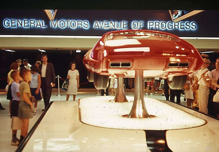 GM Concept Car 1964 NY World's Fair - 1964 New York World's Fair - Wikipedia, the free encyclopedia