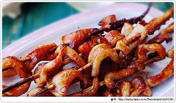 10-2. [오징어] 오징어 꼬치 ( 집밥 백선생 )           -            Memory Korea