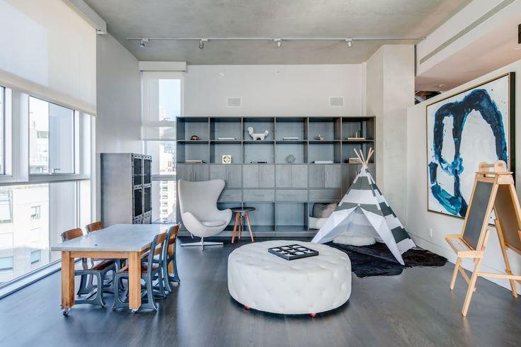Peek Inside Kanye West And Kim Kardashian West's $25 Million Airbnb In NYC
