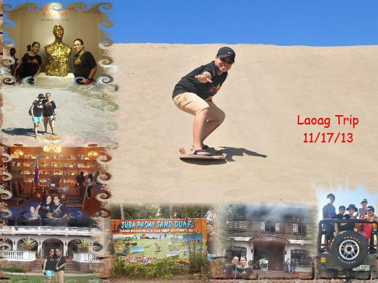 Sandboarding at PAOAY, LAOAG