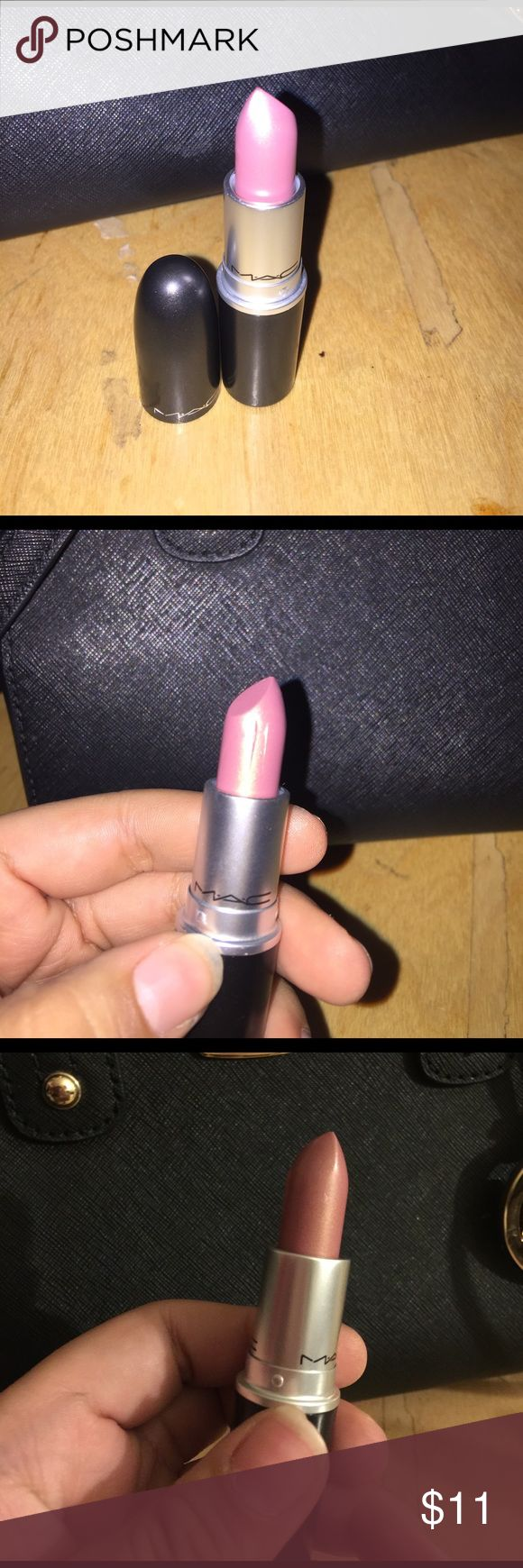 Mac Lipstick- Frost High Strung Brand new Mac lipstick. Price is firm and different on this one because of the scratches. MAC Cosmetics Makeup Lipstick