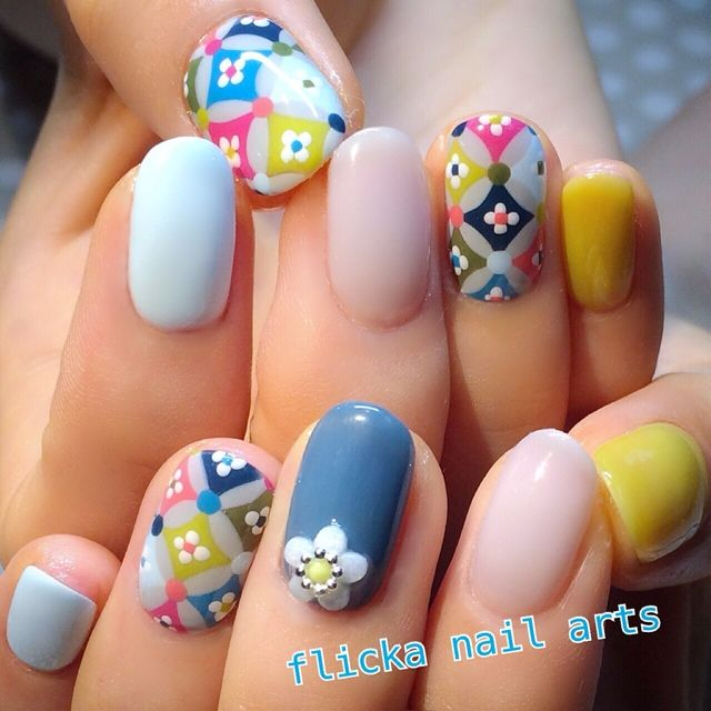 72 best Korean/Japanese nailart images on Pinterest | Make up looks ...
