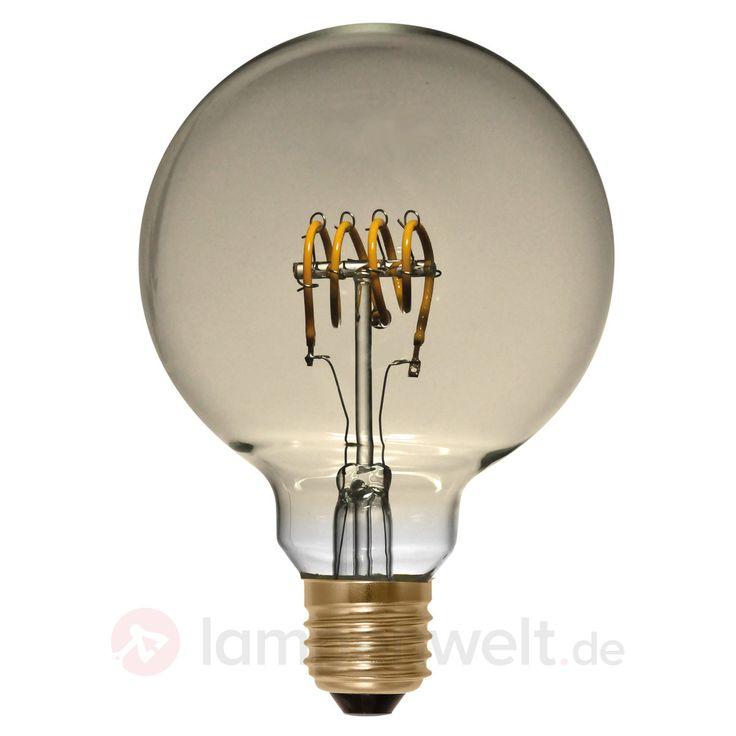 E27 4W 922 LED-Globe G95 Curved Line