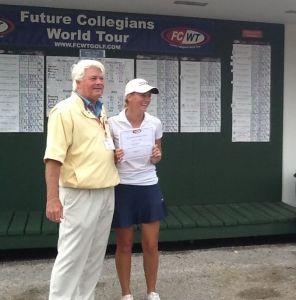FCWT Junior Golf Tournament at Rio Pinar 2014 - Claire Carlin