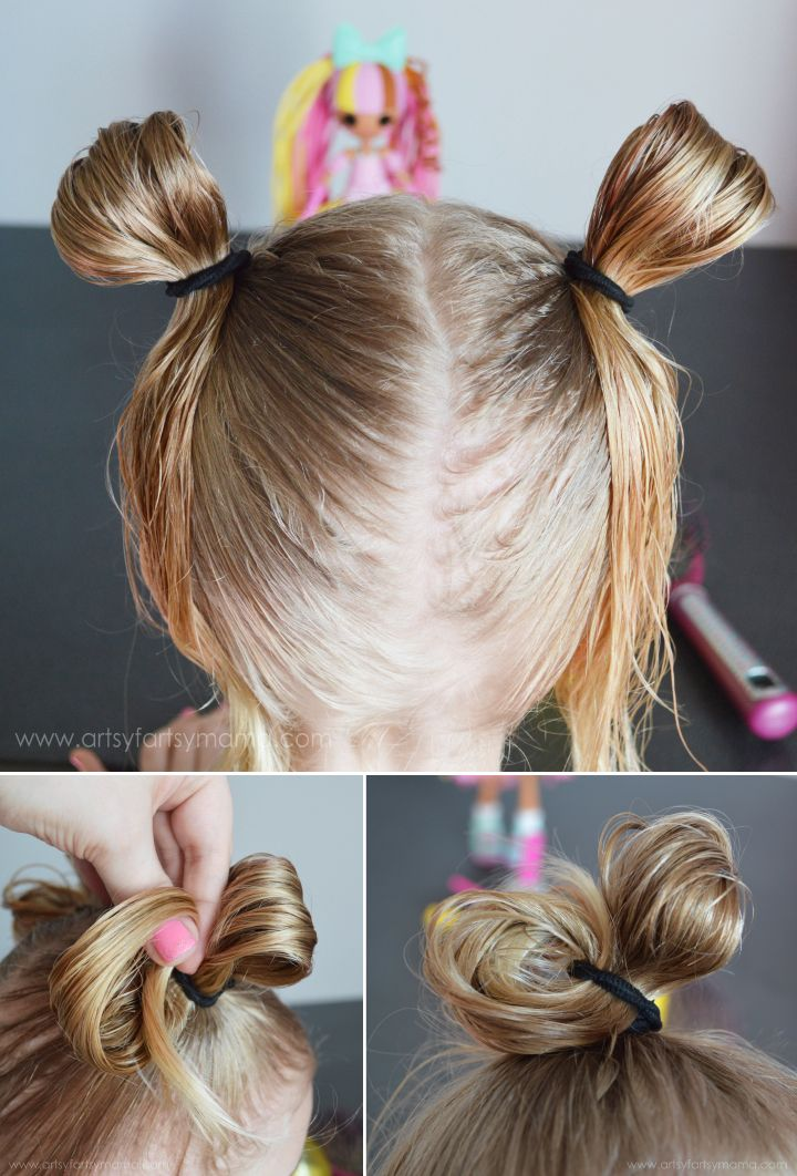 Crazy Hair Day with Lalaloopsy Girls at artsyfartsymamacom CrazyHairDay  Hairstyles  Crazy
