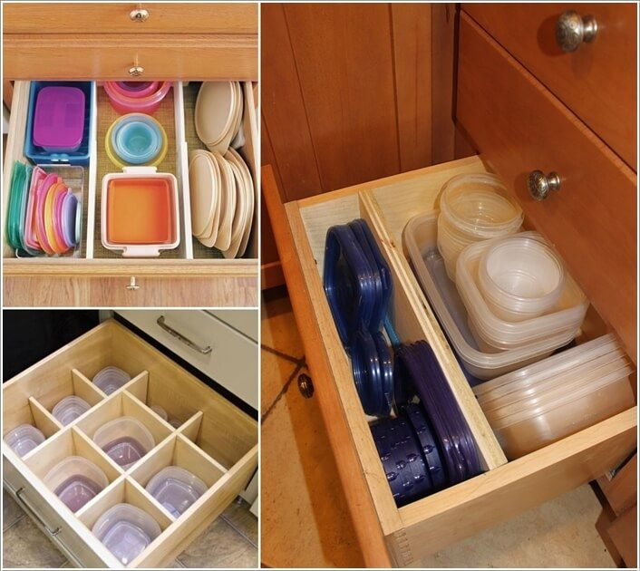 Deep Kitchen Cabinet Solutions: Best 25+ Tupperware Storage Ideas On Pinterest