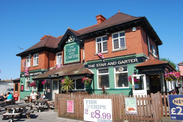 The Star and Garter in Copnor dates from the 1920s and has its original green glazed brick exterior.
