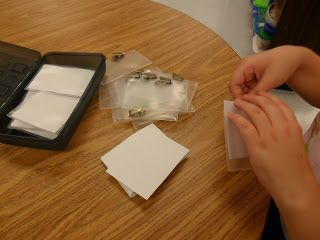 Age Appropriate Pre-Vocational Activities for High School Students with Autism.  I am always looking for new functional and real world tasks to try with older students.  Here is a new one I had not seen before.  It takes some dexterity and patience, but a great appropriate activity for a life skills  setting.  Read more at:  http://otinpublicschools.blogspot.com/2012/10/age-appropriate-pre-vocational.html#uds-search-results