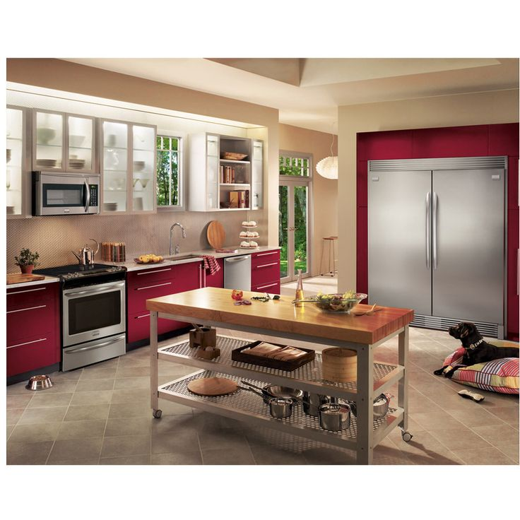 Shop Frigidaire Gallery Gallery 18.6-cu ft Freezerless Refrigerator (Stainless Steel) at Lowes.com