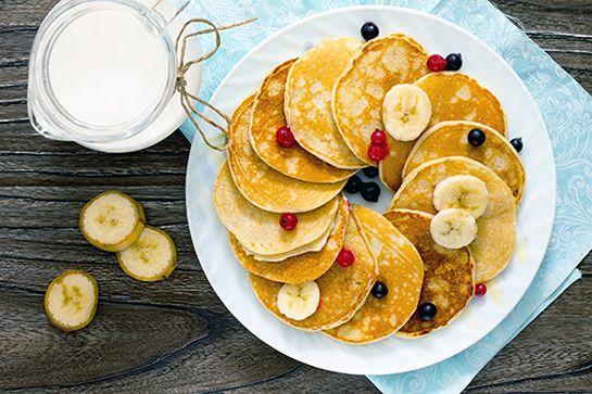 Pannenkoeken van bananenmeel - De Nieuwe Band