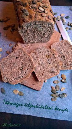 Egyszerű, gyors, egészséges – teljes kiőrlésű kenyér házilag | Meddő vagyok - Anya leszek