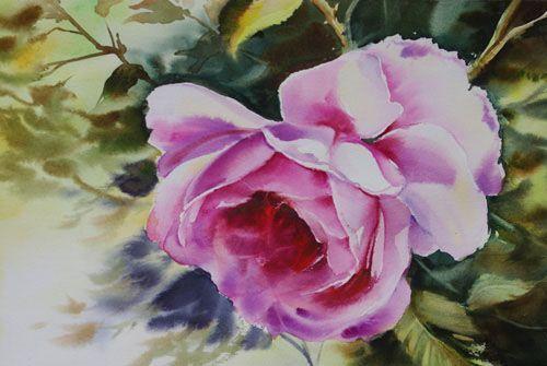 Aquarelles fleurs & fruits - Page 2 - Aquarelle Marichalar Watercolor