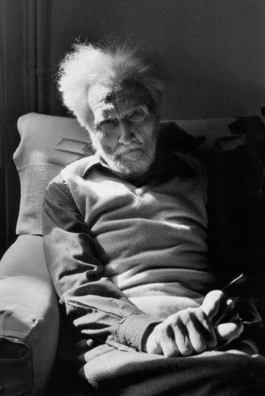 Henri Cartier-Besson     Poet Ezra Pound, Venice, Italy     1971