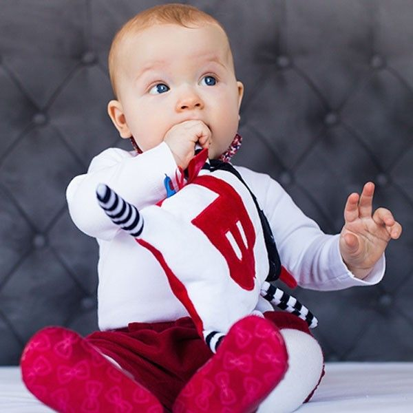 Super Zabawka na Kolkę i Bóle Brzuszka MR B od Lullalove #baby #toddler