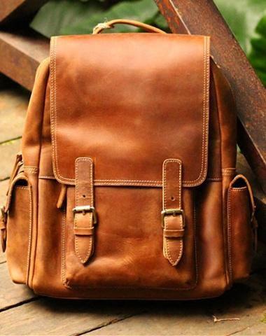 c7a7ba52e88d Handmade vintage busket rustic leather crossbody Shoulder Bag for girl  women lady