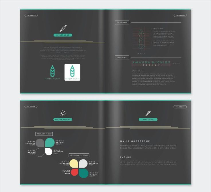 50 Meticulous Style Guides Every Startup Should See Before Launching {Personal Identity by Amanda Michiru}