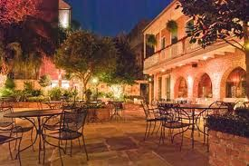 I have a love for French Quarter courtyards and this is one of my favorites - Broussard's Restaurant courtyard NOLA