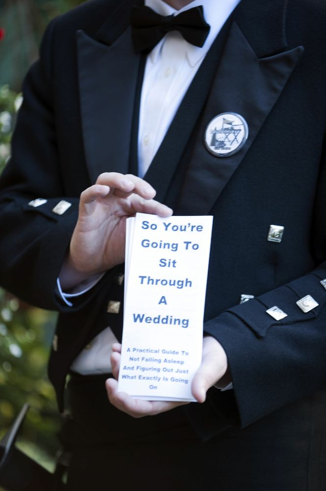 18 wedding ideas you won't do unless you're an awesome couple