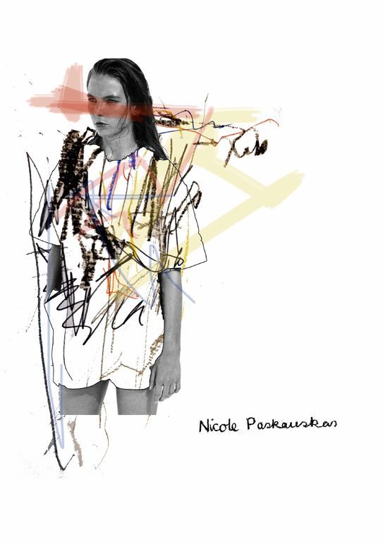 Fashion Sketchbook - fashion illustration; textiles & fashion portfolio // Nicole Paskauskas