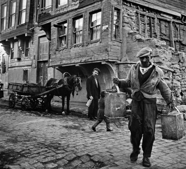 İstanbul, Vefa, 1959  Ara Güler