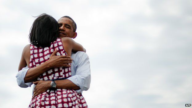 Chouchou is Carla Brunis term for her husband, the former French President Nicolas Sarkozy. Samantha Cameron was heard on microphone saying I love you babe to her man, Prime Minister David Cameron - and Michelle Obama described the most-tweeted picture ever (above) with the words, Thats my honey giving me a hug.  SWEETEST ARTICLE EVER i adore pet names.  michelle obama's is particularly sweet, cant get over it. samcam's is just funny and so human and weirdly modern-day english