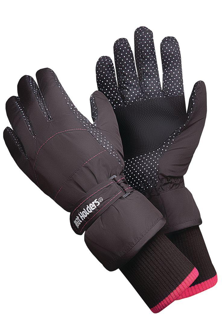 Ladies Heat Holder Ski Gloves