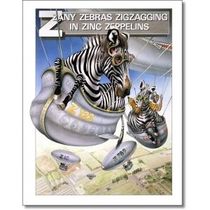 Graeme Base; Zany Zebras