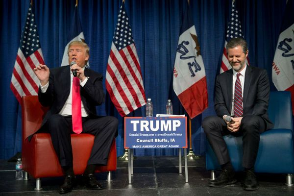 A group of students at Liberty University have started a movement to let the world know they don't support Donald Trump – even if their school's president, Jerry Falwell Jr., has publicly endorsed him.