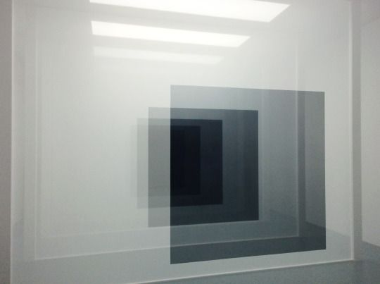 Robert Irwin @ Art Basel 2015 Black 3, 2008