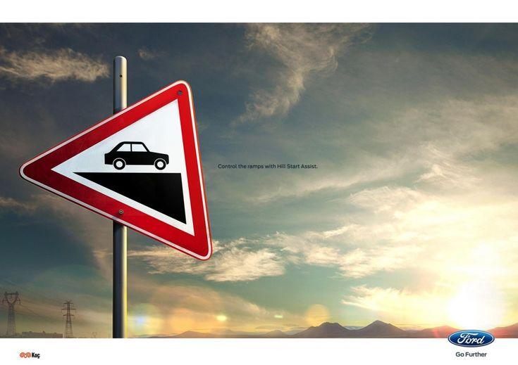 アイデアは視点を変えることだ。わずか数十度だけ標識をずらすことで生まれたクリエイティブとは? | AdGang
