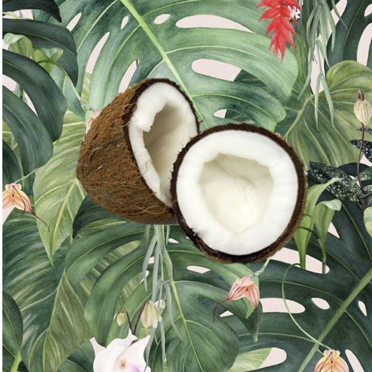 The most delicious dairy-free, refined sugar-free coconut ice-cream!
