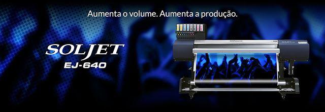 Roland EJ 640 wide format printer