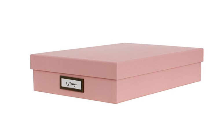 A4 slim document box