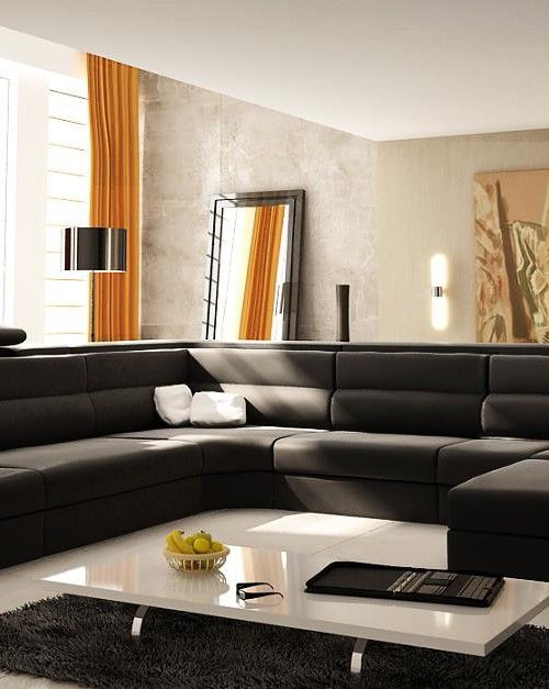 Best 25+ Extra large sectional sofas ideas on Pinterest | Large sectional Large basement furniture and Large upstairs furniture : large leather sectional sofas - Sectionals, Sofas & Couches