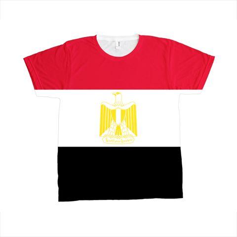 Egypt Flag T-SHIRT - Unisex