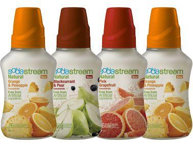Soda Stream Natural tiivisteet, noin 8 €.