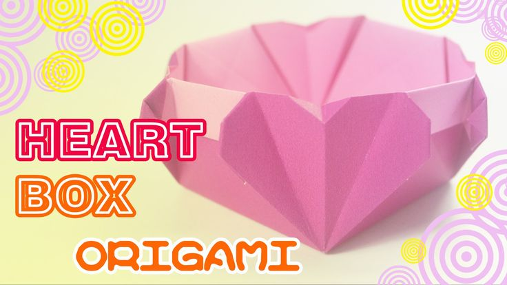 3d origami heart instructions easy