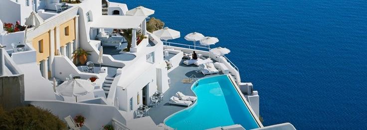 Katikies Hotel, Santorini  #JetsetterCurator
