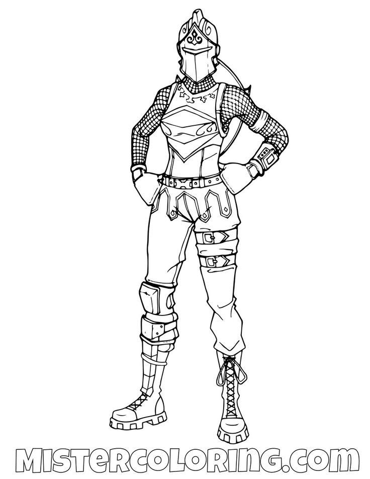 Female Black Knight Posing Fortnite Coloring Page Hamburguesa Para Colorear Paginas Para Colorear Para Imprimir Disenos De Dibujo