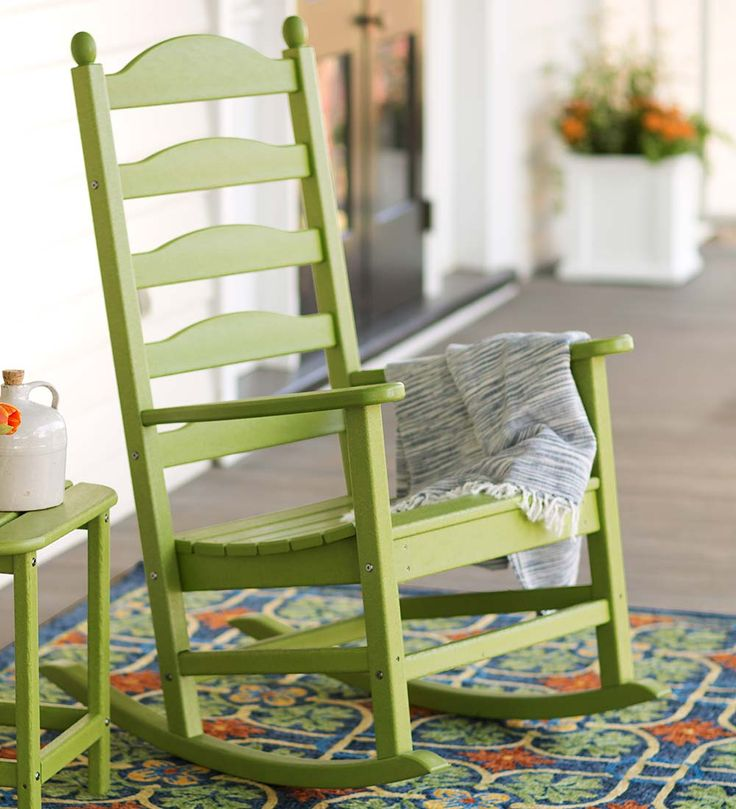 POLYWOOD Rocker  Outdoor Rockers  Front Porch  Pinterest ...